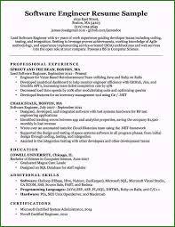 Certified Developer Resume Software Developer Resume Format Beautiful Software Engineer