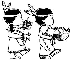 Beautiful Idea Thanksgiving Indian Coloring Pages Indians Clipart