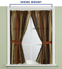 For an outside mount, the drapery rod placement can vary.