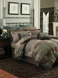 comforter set blue brown bedding navy and teal bedding king size comforter sets clearance teal brown