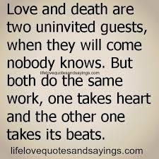 Quotes About Love And Death