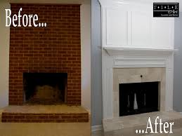 amazing tile fireplace remodel designed and installed by tile art ceramic stone