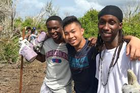 Bvi Community Service Projects Completed By Teen Volunteers