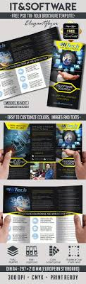 Free It And Software Tri Fold Brochure