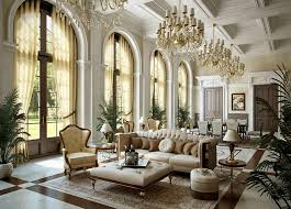 living room spacious victorian style living room design with luxury crystal chandelier and high white