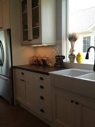 Farmhouse Kitchen Hardware White Cabinets Farmhouse Sink Oil Rubbed Bronze Hardware And