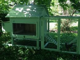Chicken Coop Roof Design Our Chicken Coop Metal Roof Detachable Run On Skids For