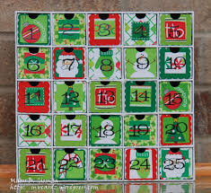 Christmas Countdown Calendar With Candy | Business Form Templates ...