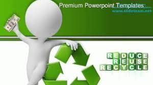 Download Free Powerpoint Free Recycling Template Houriya Media