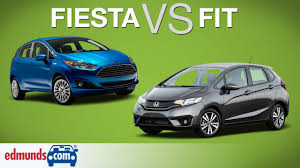 honda fit 2016 vs 2015. 2015 ford fiesta vs honda fit two subcompacts face off youtube 2016