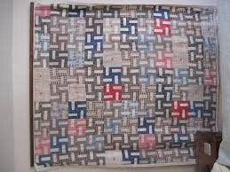 Belgium: Quilt - Pro-Swastika & There are 110 swastikas on the quilt. Adamdwight.com