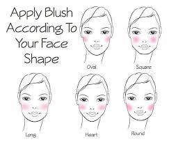 round face shape makeup