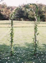 metal fl wedding arch diy