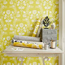 yellow wallpaper for home