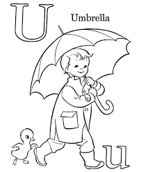Children's coloring pages online allow your child to. Get This Letter U Coloring Pages Umbrella U321n