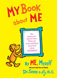 my book about me by me myself hardcover sep 12 1969 by dr seuss