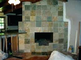 slate tile fireplace surround black pictures with blac