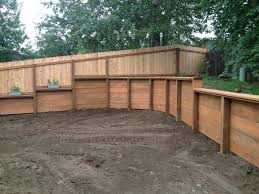 wood retaining wall novato ca