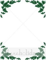 christmas menu borders pine bough photo frame christmas borders