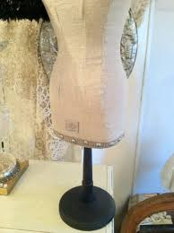 burlap dress form mannequin dress form jewelry display