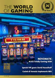 The usa online on line casino actual cash will verify. Novomatic The World Of Gaming Issue 78 English German By Novomatic Issuu