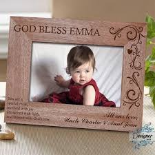 child personalised wooden photo frame