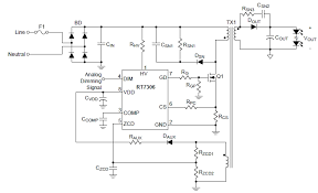 led driver circuit explained and available solutions isolated led driver circuit using flyback