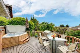 47 backyard hot tub ideas deck garden