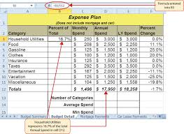 How To Use Excel For A Budget Unit 2 Formula And Functions Information Systems