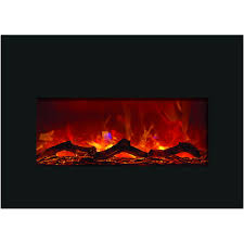 amantii inch built electric fireplace insert logs for existing gas log guys corner unit black friday