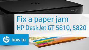 HP DeskJet GT 5810, 5820 Yazıcılar - E4 Hatası (Kağıt Sıkışması)