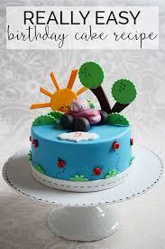 Download Simple Birthday Cake Abc Birthday Cakes