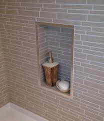 what is a shower niche mds master bath tiled niche