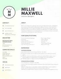 Likable Interior Design Resume Profile Samples Pdf Student
