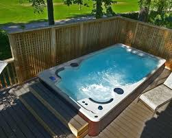 hot tub pool combo ming cost above ground swimming combination canada