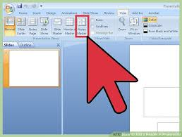 image led add a header in powerpoint step 7