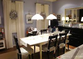pottery barn dining room black twin pendnt lamp as well dining