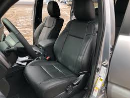 katzkin black leather int seat cover fits 2016 toyota tacoma double cab sr sr5 for