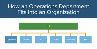 Sales Operations Org Chart Operations Management 101 201 Smartsheet