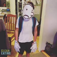 super easy book week costume diary of a wimpy kid