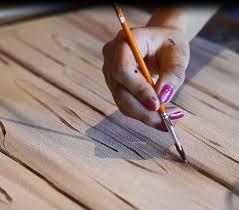 How to Make <b>Acrylic</b> Paint Look Like <b>Woodgrain</b> (Video Blog) in ...