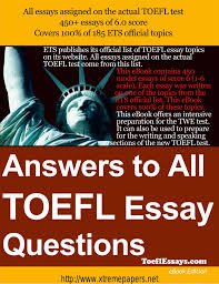 dịch thuật sample essay for the toefl writing test ebook