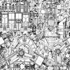 1024x1024 image result for engine art sketch engine art pinterest art