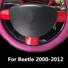 Car Steering Wheel Panel Cover Sticker For <b>Volkswagen Beetle</b> ...