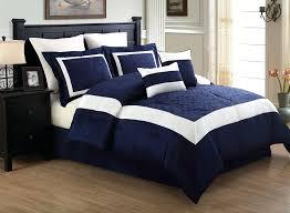 navy and white comforter set queen amazing bedding sets blue interior design 1