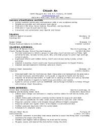 Volunteering Resume Volunteer Work Resume Samples Visualcv Resume