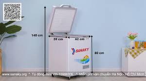 Sanaky - Tủ Đông - Tủ Mát - Tủ đông lạnh mini đa năng dung tích sử dụng 100  lít mã VH-1599HYK