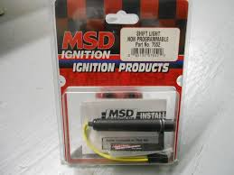steve johnson s online parts store new msd shift light super small and very powerful light weight great for secondary light to tell you in high gear as you get close to redline 65 plus