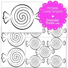 candy template.  Template Printable Candy Templates From PrintableTreatscom On Template
