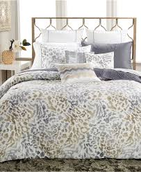 inc international concepts cheetah graphite comforter and duvet